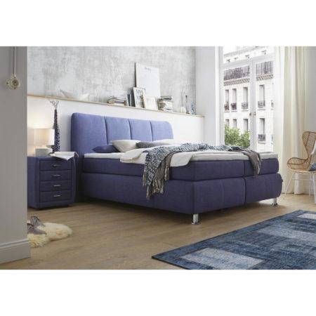 dieter knoll boxspringbett 180x200 cm in lila luxusklasse. Black Bedroom Furniture Sets. Home Design Ideas