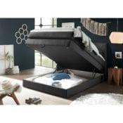 Boxspringbett |Bettkasten Griggs 120x200 Schwarz - loftscape