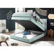 Boxspringbett Griggs |Bettkasten 120x200 Grün - loftscape
