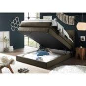 Boxspringbett |Bettkasten Griggs 140x200 Braun - loftscape