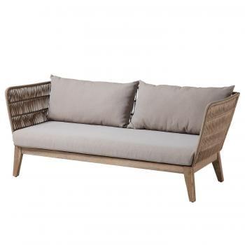Gartensofa Bellano 3 Sitzer ars manufacti Loungemöbel und Gartenlounge
